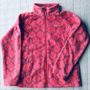 Columbia patterned fleece nwot girls 14/16